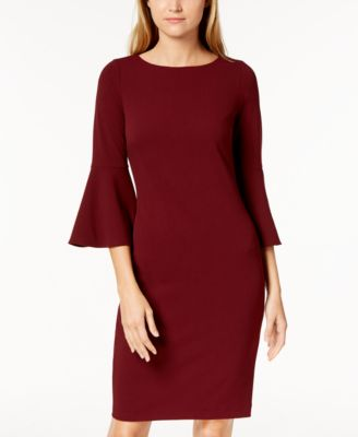 Sheath Dresses with Sleeves
