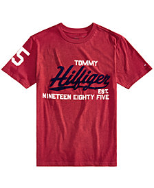 Tommy Hilfiger Big Boys Kurt Graphic-Print Cotton T-Shirt