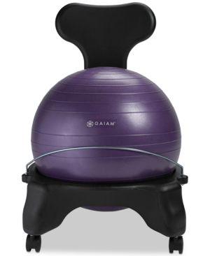 Image of Gaiam Balance Ball Free Chair