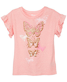 Epic Threads Big Girls Ruffle-Sleeve T-Shirt, Created for Macy's