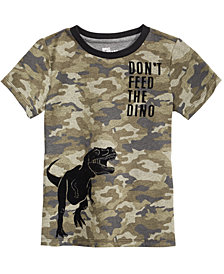 Epic Threads Toddler Camo Boys Dino-Print T-Shirt, Created for Macy's