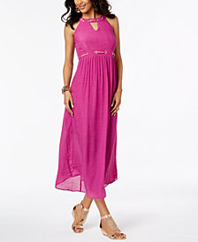 Thalia Sodi Embellished Maxi Dress, Created for Macy's