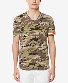 Buffalo David Bitton Men's V-Neck Camo T-Shirt