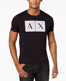 A|X Armani Exchange Men's Foundation Triangulation T-Shirt