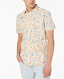 Tommy Hilfiger Denim Men's Paint Splatter Print Classic Fit Shirt, Created for Macy's