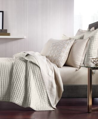 CLOSEOUT! Velvet Quilted Full/Queen Coverlet, Created for Macy's