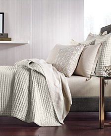 Hotel Collection Velvet Quilted King Coverlet, Created for Macy's