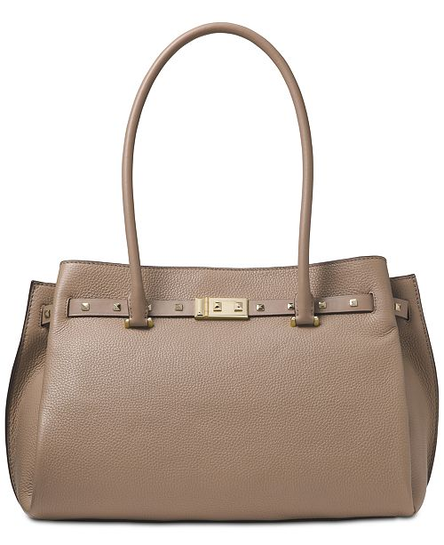 9363f768f0b1 Michael Kors Addison Pebble Leather Tote   Reviews - Handbags ...