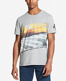 DKNY Men's NYC Traffic Logo T-Shirt, Created for Macy's