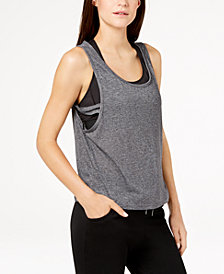 Gaiam Harley Burnout Cropped Tank Top