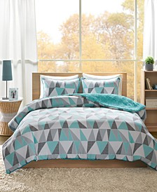 Ellie Reversible 3-Pc. King Comforter Set