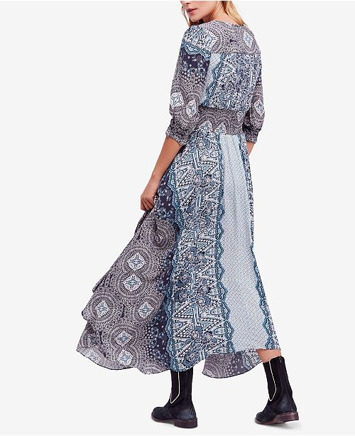 8af8460e87a Free People Mexicali Rose Printed Smocked Maxi Dress   Reviews ...