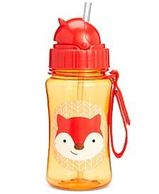 Fox Zoo Straw Water Bottle
