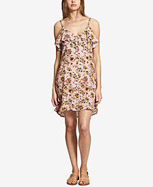 Sanctuary Rafaella Floral-Print Ruffled Dress