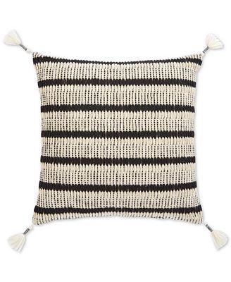 Sunham Honeycomb Hand-Woven Pillow