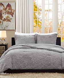 Norfolk 3-Pc. Reversible Full/Queen Comforter Set