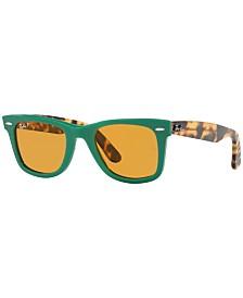 Ray-Ban Polarized Sunglasses, RB2140 WAYFARER POP