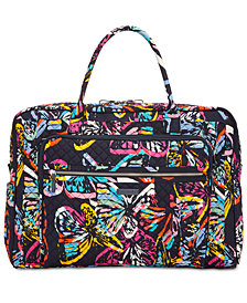 Vera Bradley Iconic Grand Weekender Bag