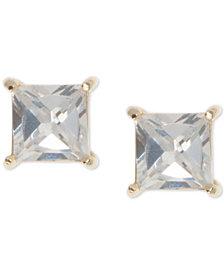 Ivanka Trump Cubic Zirconia Square Stud Earrings