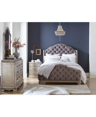 Zarina Bedroom Furniture, 3-Pc. Set (Queen Bed, Dresser & Nightstand)
