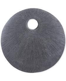 Zuo Round Eye Dark Gray Small Plaque