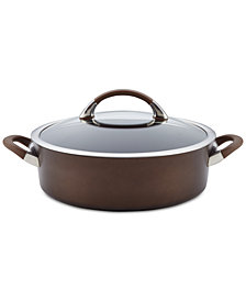 Circulon Symmetry Chocolate 5-qt. Sauteuse & Lid