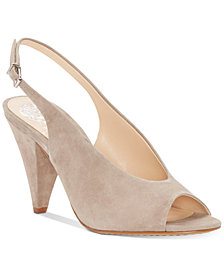 Vince Camuto Paelina Slingback Cone-Heel Sandals