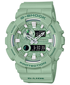 G-Shock Men's Analog-Digital Light Green Resin Strap Watch 51.2mm
