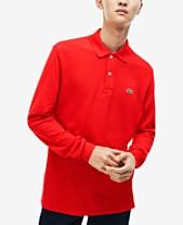 639966adaf54c5 Lacoste Men s Long Sleeve Pique Polo