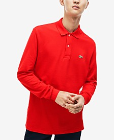 Lacoste Men's Long Sleeve Pique Polo