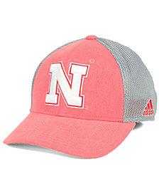 adidas Nebraska Cornhuskers Faded Flex Cap