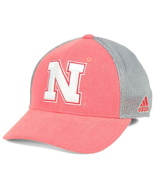 2cfd705d ... wholesale adidas nebraska cornhuskers faded flex cap sports fan shop by  lids 46b6e 2daeb