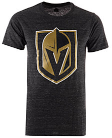 Majestic Men's Vegas Golden Knights Tri Blend Team Logo T-Shirt