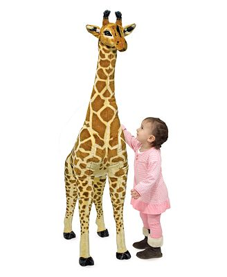Melissa and Doug Kids Toys, Kids Plush Large Stuffed Animal Giraffe