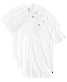 Polo Ralph Lauren Men's 3-Pk. Classic Cotton T-Shirts