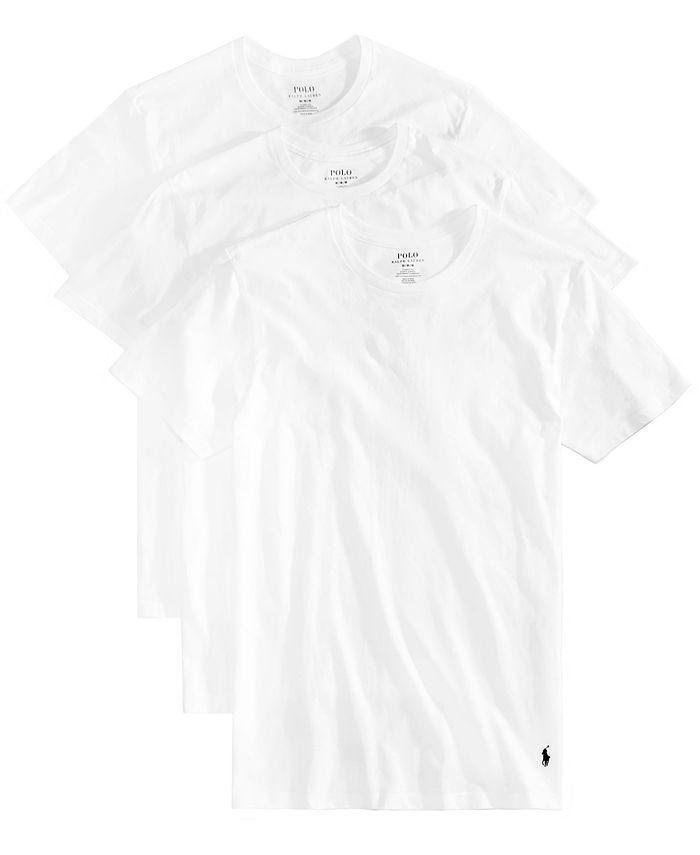 Polo Ralph Lauren - Mens Underwear, Slim Fit Classic Cotton Crews 3 Pack