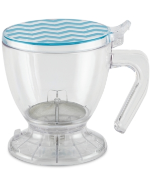 An ingenuous addition to the dorm, home or office, this Smart Brewer from BonJour prepares tea or coffee for two. The clear plastic lets you easily monitor the beverage\\\'s strength.