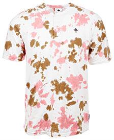 LRG Men's Abstract-Print Henley T-Shirt