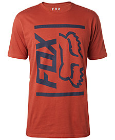 Fox Men's Side Barred Logo-Print T-Shirt