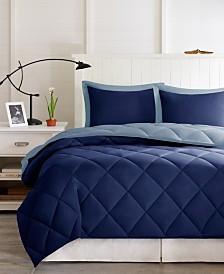 Madison Park Essentials Larkspur Reversible 2-Pc. Twin/Twin XL Comforter Set