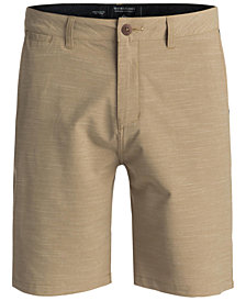 "Quiksilver Men's Union Textured Amphibian 20"" Hybrid Shorts"