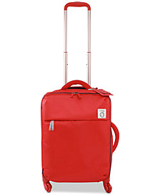 "Lipault Ines De La Fressange 20"" Softside Carry-On Spinner Suitcase"