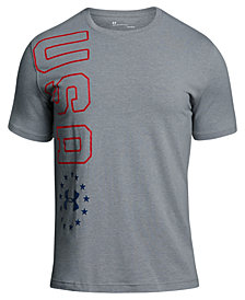 Under Armour Men's Charged Cotton® Metallic-Graphic T-Shirt