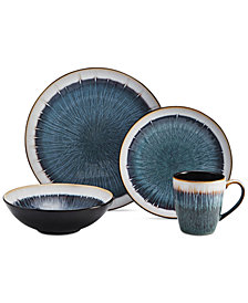 Gourmet Basics by Mikasa Reed 16-Pc. Dinnerware Set, Service for 4