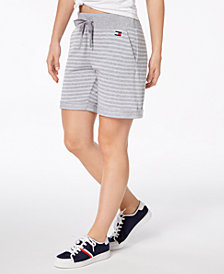 Tommy Hilfiger Sport French Terry Shorts, Created for Macy's