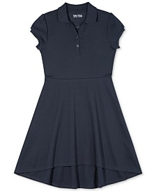 Nautcia Little Girls Polo Skater Dress