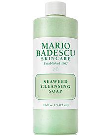 Mario Badescu Seaweed Cleansing Soap, 16-oz.