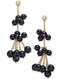 I.N.C. Gold-Tone Stick & Ball Shaky Drop Earrings, Created for Macy's