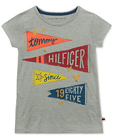 Tommy Hilfiger Big Girls Banner T-Shirt