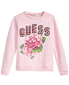 GUESS Big Girls Graphic-Print Sweatshirt